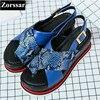 Summer Women Shoes Casual Flat Platform Wedges Sandals Woman Leisure Shoes 2017 Fashion Serpentine Style Women