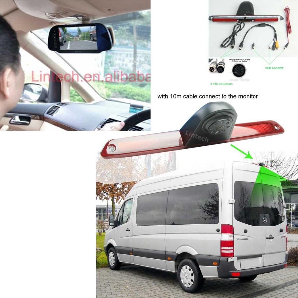 Mercedes-Benz-Sprinter-camera&7inch-mirror-monitor