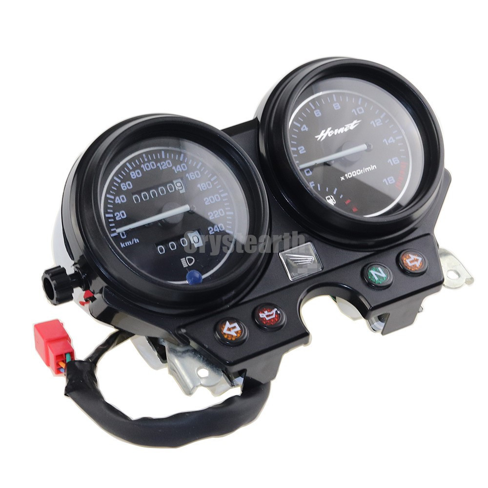 Motorcycle Gauges Cluster Speedometer Tachometer Instrument For Honda CB600 Hornet 600 2000-2006 2001 2002 2003 2004 2005 motorcycle gauge cluster speedometer for honda cb600 hornet 600 1996 2002 1997 1998 1999 2000 2001 hornet600 new