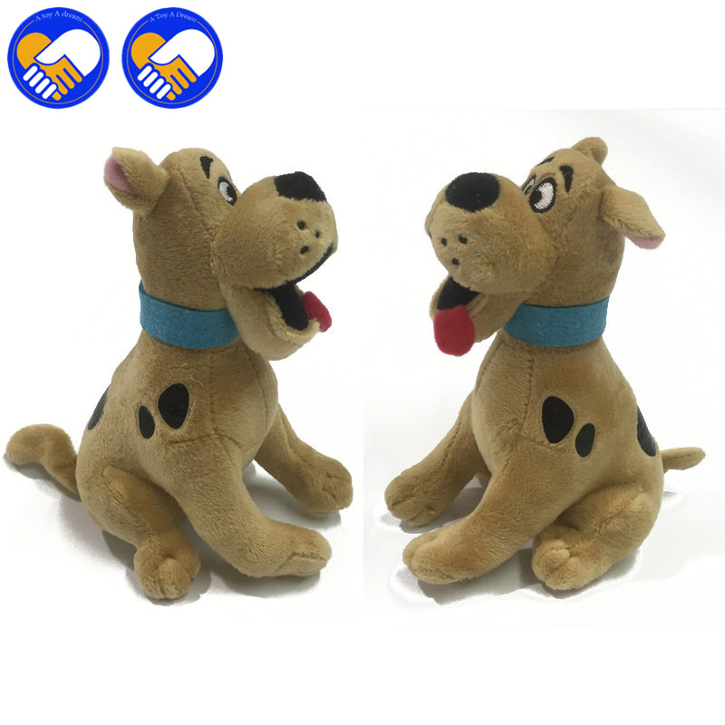 A TOY A DREAM Mummy Museum 15cm Mini Animals Sale Scooby-Doo Plush Toys Dogs For Children Xmas/New Year Gifts Toys