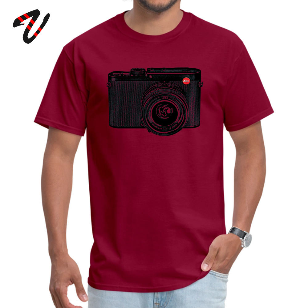 American Shorthair happy Fashion Men Top T-shirts O-Neck Short Sleeve 100% Cotton Tees Casual Clothing Shirt Top Quality American Shorthair happy 7279 maroon