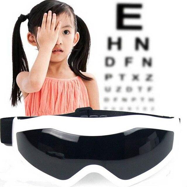 4b62d400447 Electric eye massager Mask Migraine eye vision improvement Forehead Eye  Care glasses Massager Wireless vibration eye magnetic