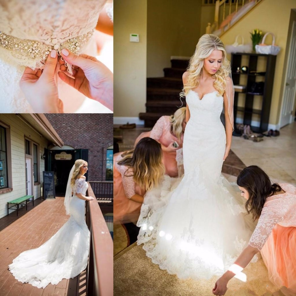 amazing-mermaid-full-lace-wedding-dresses-detachable-half-sleeves-crystal-beaded-sash-covered-button-sweetheart-bridal-gowns-custom-made_