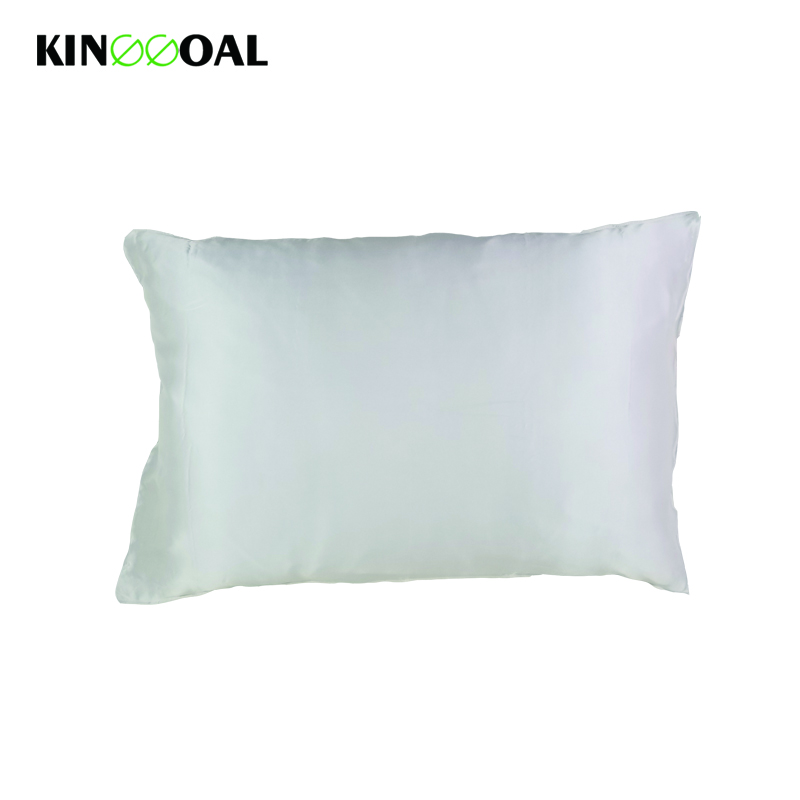Kinggoal 19mm 1pc Natural Mulberry Silk Pillowcase Pure