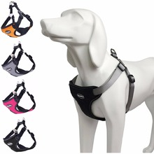 BINGPET No Pull Pet Dog Harness Reflective Vest Harness Clothes for Pet Puppy Small and Large Dog Freedom Walking