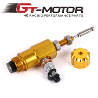 GT Motor Motorcycle Performance Brake Clutch Master Cylinder Rod System Performance Efficient Transfer Pump