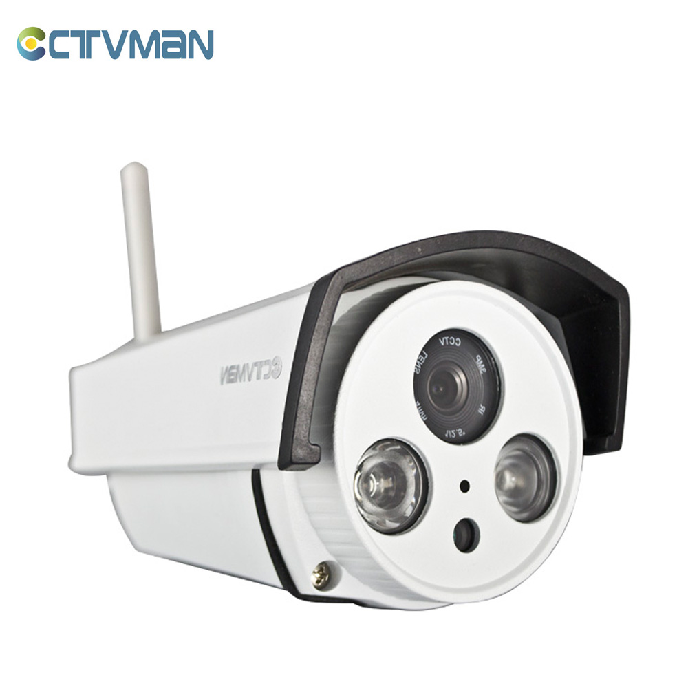 CTVMAN Outdoor CCTV Camera 720P  Wifi Wireless IP Cam with SD Card Security External Wireless Wi-fi Onvif IR Surveillance Camara new ip camera wifi outdoor hd 720p wireless security camera with sd slot cctv camera surveillance ip cam waterproof onvif p2p
