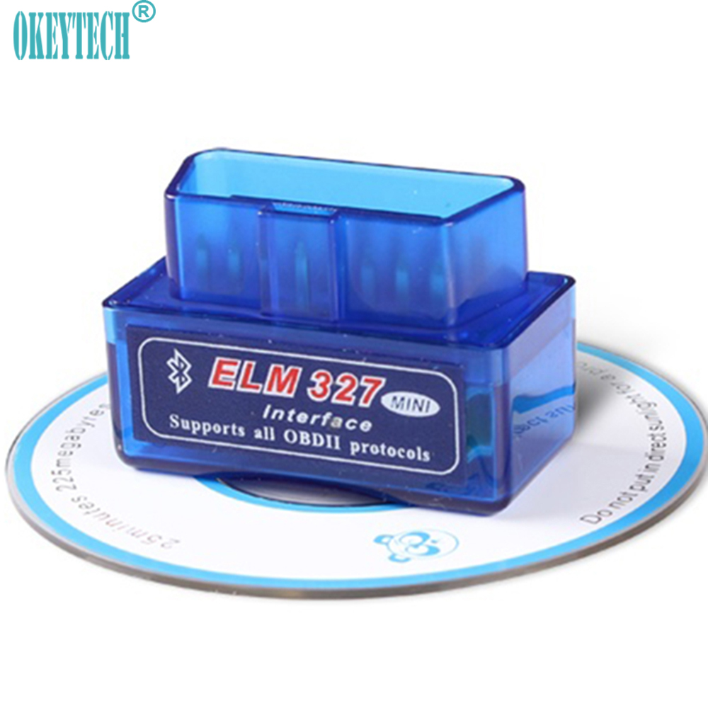 OkeyTech Super <font><b>Mini</b></font> <font><b>ELM327</b></font> V2.1 OBD2 <font><b>OBDII</b></font> <font><b>Bluetooth</b></font> Auto-diagnoseschnittstelle Scanner Diagnose-Tool Codeleser für Android image