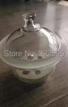450mm White Glass desiccator jar lab dessicator dryer