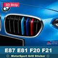 Аксессуары для BMW 1  E81  E87  E82  E88  F20  F21  передняя решетка  полосы для мотоспорта  гриль  M  характеристики  полоски  наклейки