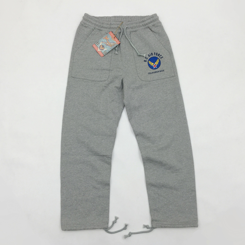 BOB DONG Heavyweight US Air Force Men's Sweatpants Athleisure Sportwear Trousers