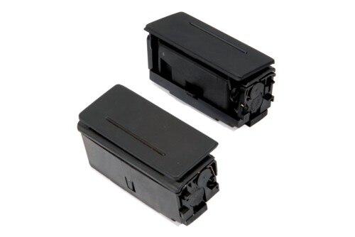 Ensemble cendrier panneau de porte passager arrière noir pour AUDI A6 C6/AUDI Q7/AUDI A6 C5