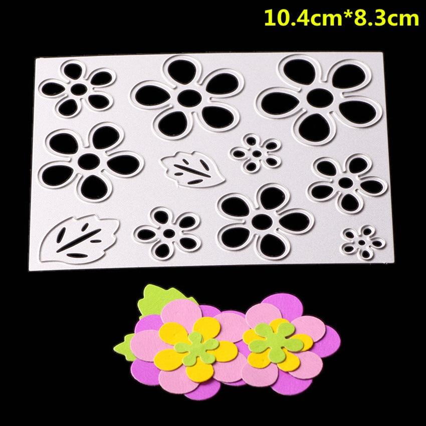 Metal Cutting Dies Mold Flower Spark Decoration Scrapbook Paper Craft Stencil