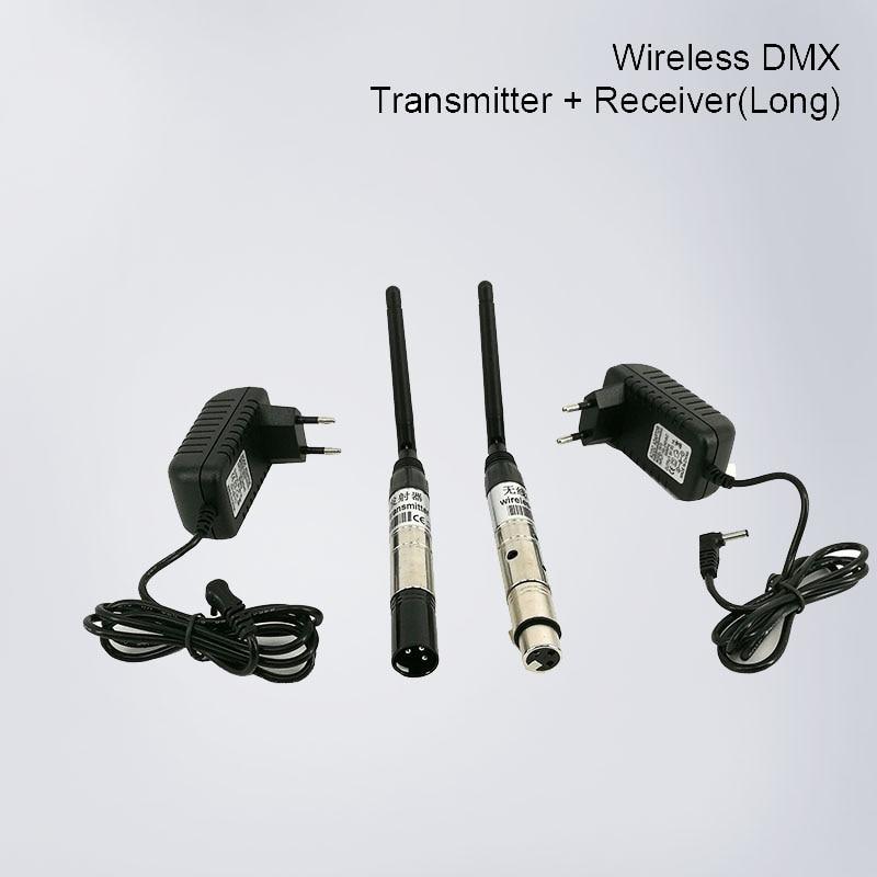 2.4G 126Ch Wireless DMX DMX512 DJ system Receiver & Transmitter Xmas Controller for LED stage light LED light все цены