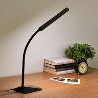 Minimalismus LED Schreibtischlampe Lampara Escritorio tischlampe Touch-Control Dimmbar Büro Studie Schlafzimmer Nachtleselampe