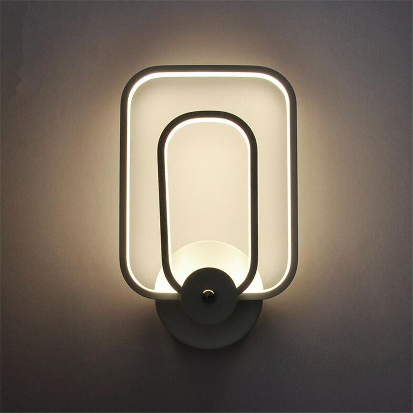 Dimming Led Wall Lamp European Aluminum Body Wall Sconce For Bedroom Home Lighting White Bedside Light Luminaire Light Fixture the ivory white european super suction wall mounted gate unique smoke door