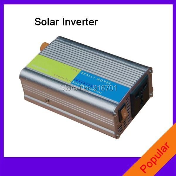 цена на 500W Pure Sine Wave Solar Power Inverter DC 12V/24V to AC 120V/220V/230V Solar inverter r 500w power inverter dc 48v to 220v.