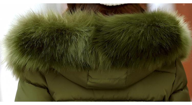 Short Women Basic Jackets Streetwear Warm Casual Coats Female Parka Cotton Hooded Winter Women Jacket Coat Outwear 19 DR114 14