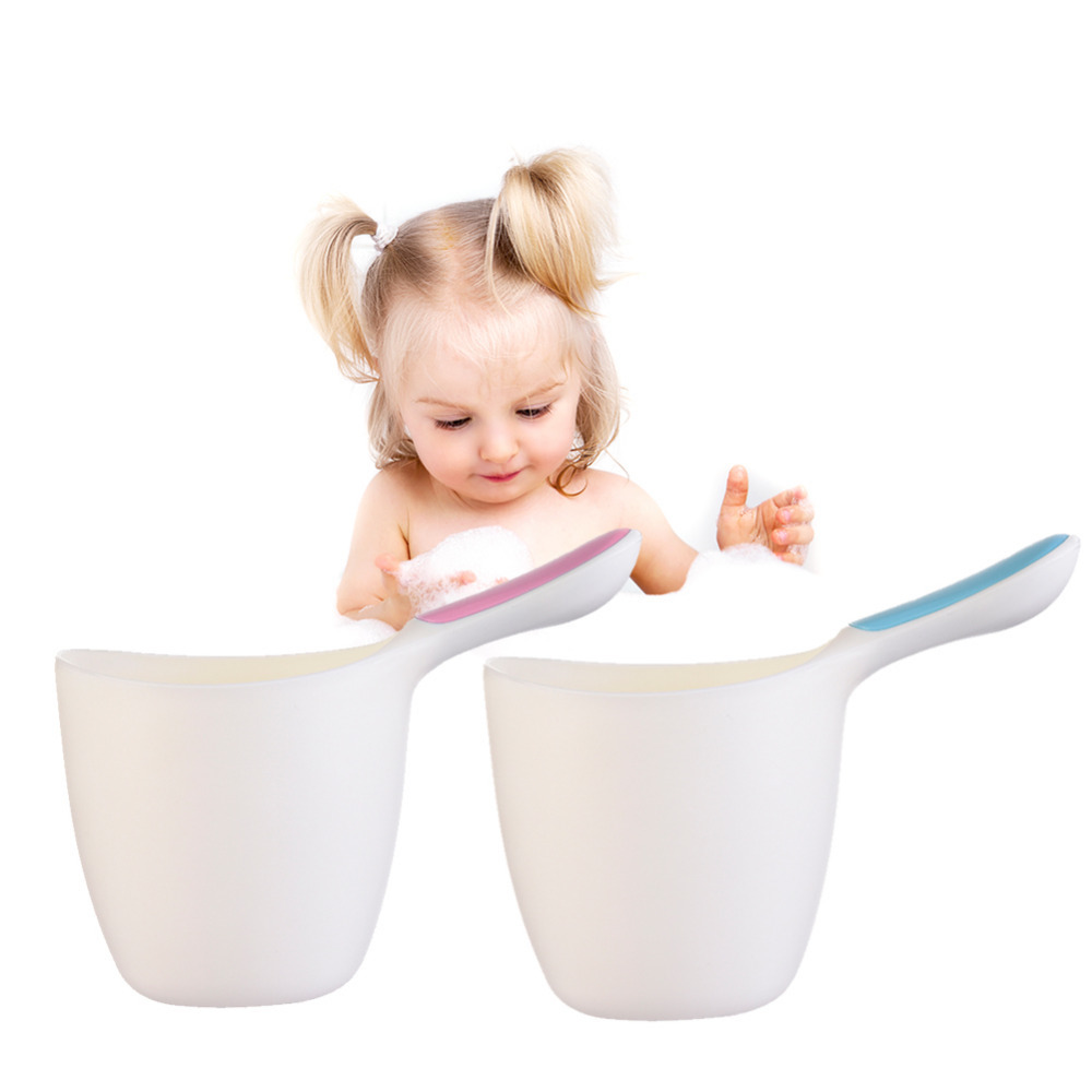 Hot Baby Child <font><b>Wash</b></font> Hair <font><b>Eye</b></font> Shield Shampoo Rinse <font><b>Cup</b></font> High Quality Bath Product Thickened New Style Water Ladle Scoop for Kids