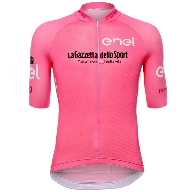 Bike-Clothing Cycling-Jerseys Italia Bicycle-Maillot Tour-De-Italy Bodyfit Pink Team