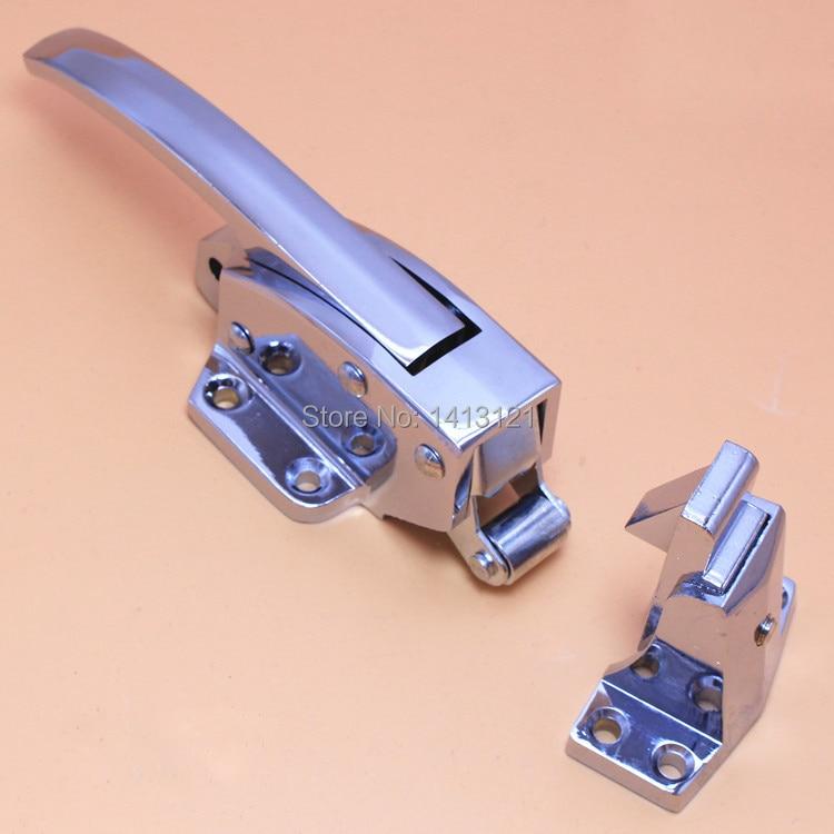 Бесплатная доставка ручка морозильная камера ручка дверная петля духовки холодный замок на дверь хранилища регулируемая защелка оборудов