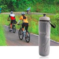 710ml Tragbare Outdoor Isoliert Wasser Flasche Fahrrad Bike Radfahren Sport Wasser Tasse Wasserkocher Recycelbar Flasche 24 unzen-in Fahrrad-Trinkflasche aus Sport und Unterhaltung bei