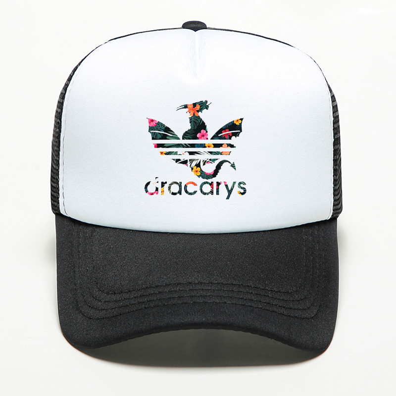 Mesh-Hat Shade-Cap Thrones Dracarys-Game Trucker Men Snapback Sports Women New-Brand