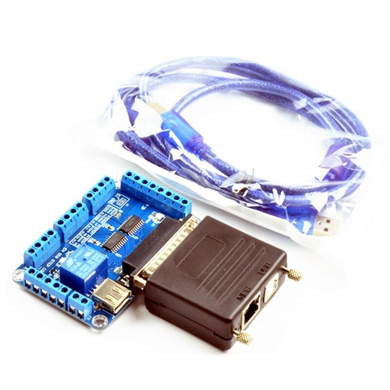 CNC fraiseuse MACH3 USB à parallèle LPT Port convertisseur adaptateur 6 axes contrôleur mach3 Parallet Port à USB outil de gravure