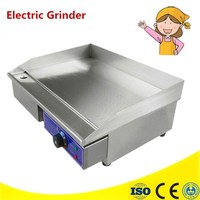 220V 3KW Commercial Electric Grill Griddle Dorayaki Teppanyaki Machine With Temperature Control 0 300 Degrees Celsius