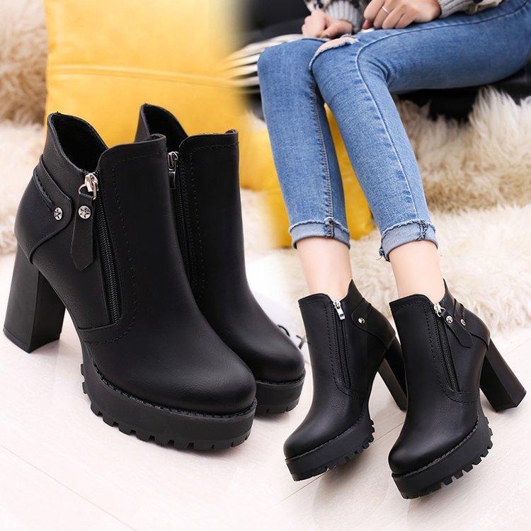 59f25f27 Mujer Botines Para Señora 2 Corta 2018 Botas Chaqueta 1 Otoño Plataforma  Botte Martens Mujeres Las De Zapatos ...