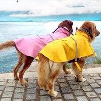 S-4XL 큰 개 방수 레인 코트 애완 동물 옷 애완 동물 비옷 재킷 의류 큰 개 옷 의류 29