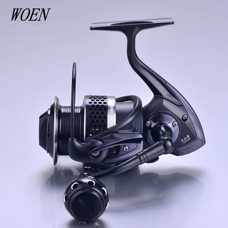 WOEN SD5000 full metal Fishing reel 10BB Stainless steel bearing Sea fishing Spinning wheel Gear ratio 4 7 1 in Fishing Reels from Sports Entertainment
