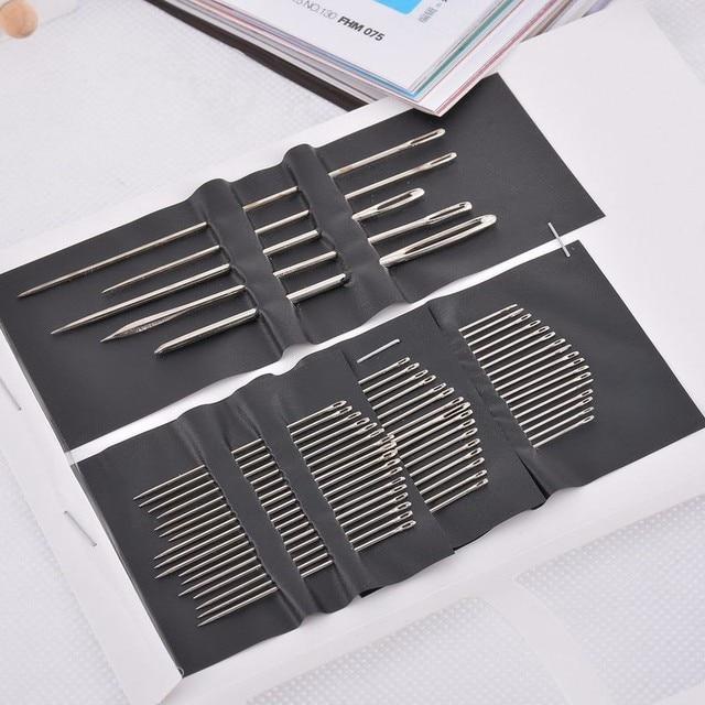 Conjunto de 55 unids/set de puntadas de mano multifuncionales conjunto de alfileres de costura manualidades para casa accesorios de costura para el hogar