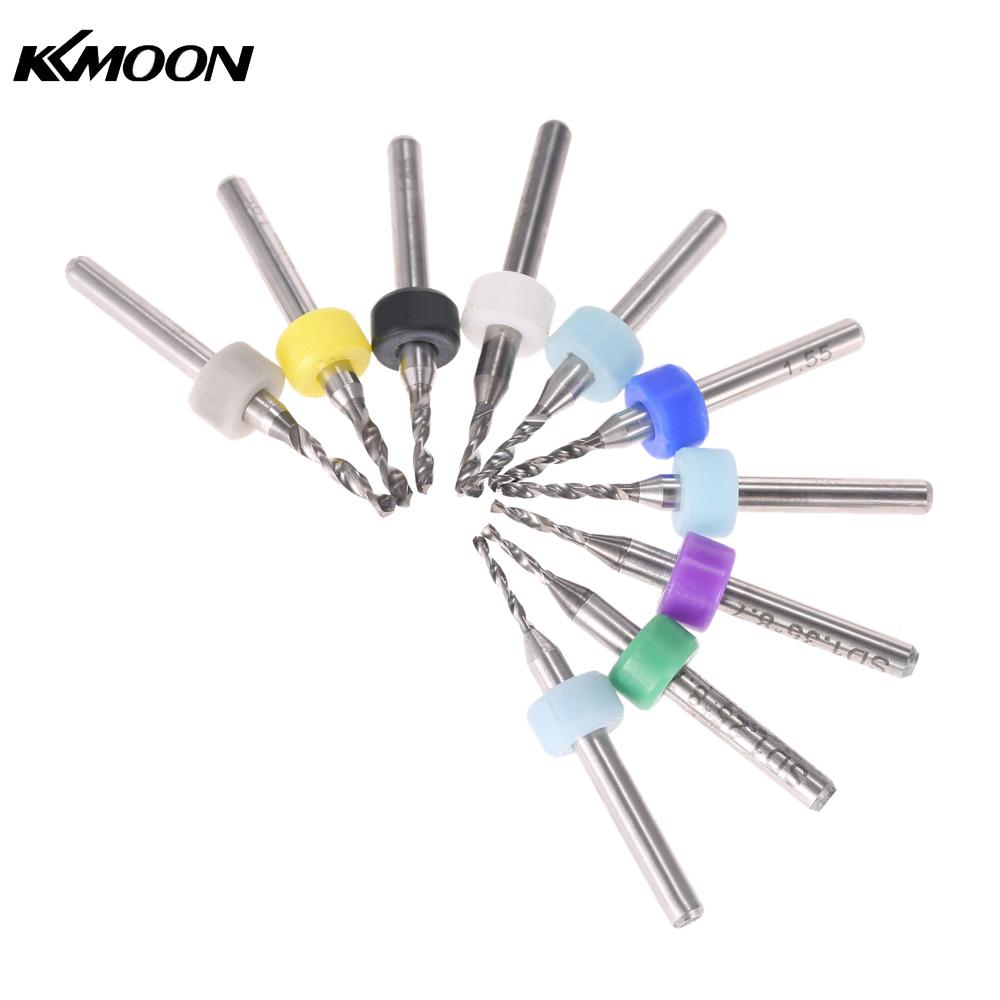 10pcs Micro Mini Twist Drill Bits Set PCB Print Circuit Board Tungsten Carbide Engraving Tool for PCB Circuit Board 1.15-2.05mm original projector lamp an xr10lp for sharp pg mb66x xg mb50x xr 105 xr 10s xr 10x xr 11xc xr hb007 xr 10xa xr hb007x