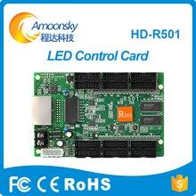 Huidu HD-R501 Assíncrono Full Color LED Recebe O Cartão de Controlador de LED para Telas de LED Trabalho Com D30 C30 D10 C10 huidu cartões