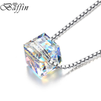 New Arrive Best Quality Original Crystals From Swarovski Elements Necklaces Pendants Fine Jewelry Joyas For Girl
