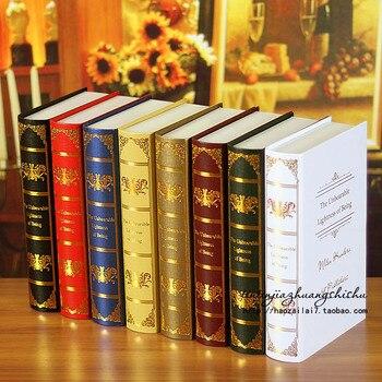 10PC Factory direct study  props    European  simulation  0613 book decoration Book box