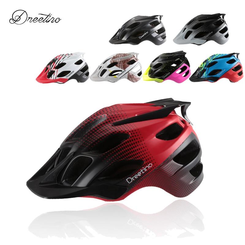 Helma Dreetino Colorful MTB Flux Helm In-MOLD Aerodynamics Road - Cyklistika