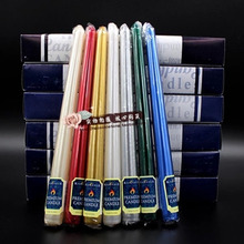 цена на Birthday Wedding Candles Romantic Long Party Christmas Candle Stick Scented Candles Pillar Mumluk Halloween Candle Fete 50KO329