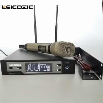 Leicozic SKM U9100 Professional digital microphone wireless True diversity microphone for large-scale performance skm microphone - DISCOUNT ITEM  5% OFF All Category