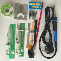 US EU Plug YIHUA947 Adjustable Constant Temperature Lead Free Internal Heating Electric Soldering Iron 5pcs Tip