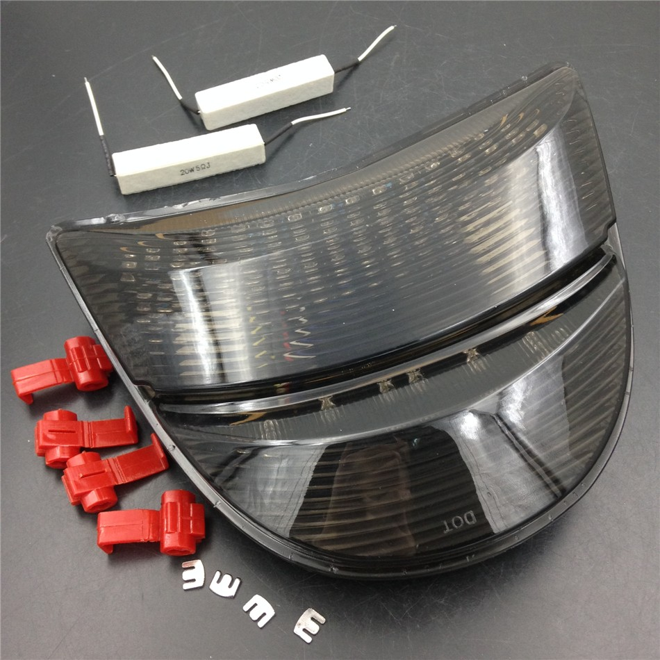 Aftermarket free shipping motorcycle parts LED Tail Light for 2002-2003 Honda CBR 954 CBR900RR Fireblade CBR954RR Smoke aftermarket free shipping motorcycle parts led tail brake light turn signals for honda 2000 2001 2002 2006 rc51 rvt1000r smoke