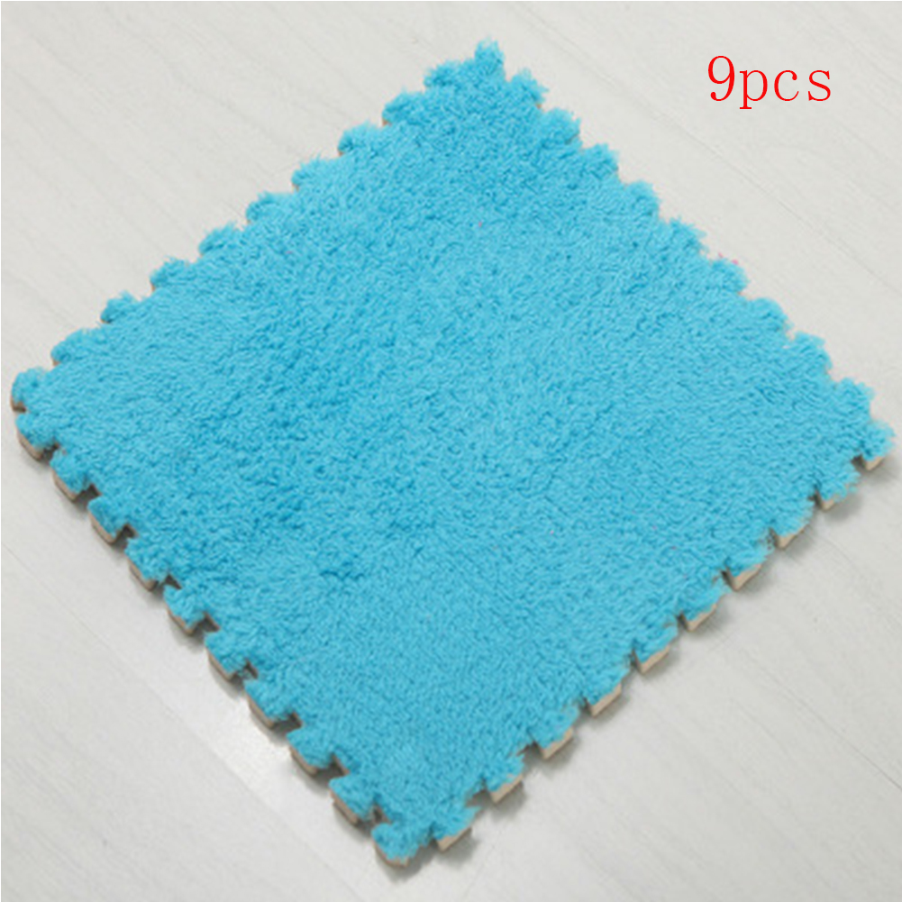 9Pcs/lot DIY Stitching Carpet Mattress Foam Rugs For Bedroom Living Room Crawling Pad Tatami Room Floor Mat 30*30cm