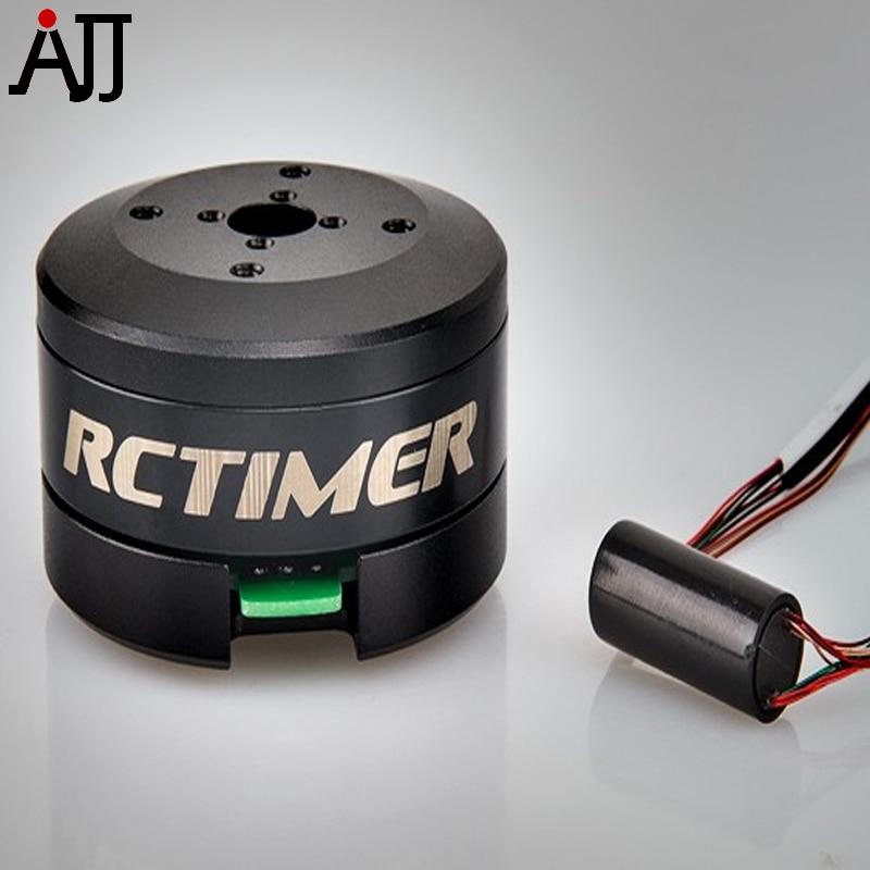 Rctimer 24N22P 4108 130T Brushless Gimbal Motor with Slip Ring 8.5mm Hollow Shaft GBM4108-SR