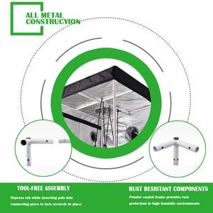 Image 5 - צמח אוהל 600D לגדול אוהל מקורה לגדול תיבת 50/60/80/100/120/150/240cm הידרופוני לגדול חדר חממה צמח תאורה אוהלים