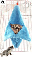 Purple Star Phalanger Volant Hut Fossa Nest Cage Bird Tents Toy Suspended Winter Warm Cages Swing Bedroom Banana House Hammock