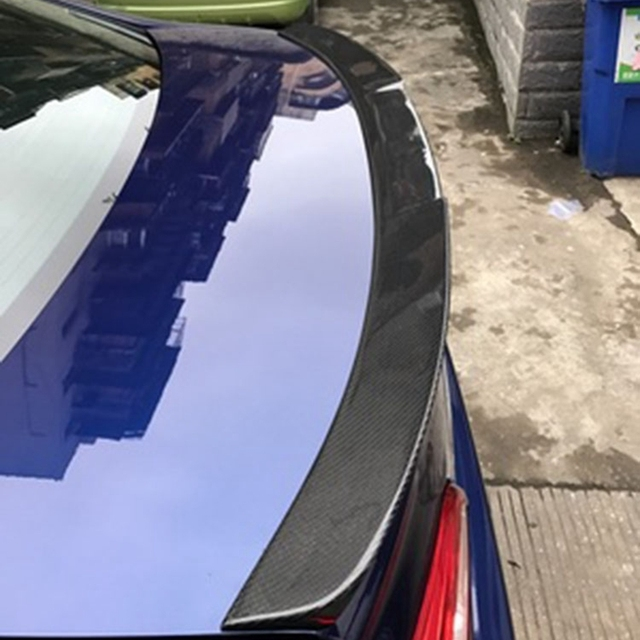 Car Styling For Subaru Legacy Carbon Fiber Rear Trunk Boot Wing Spoiler 2016 2017 2018
