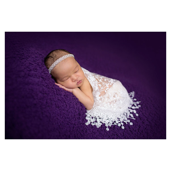White Newborn Baby Kids Lace Maternity Props scarf Photo Props Photography Quilt