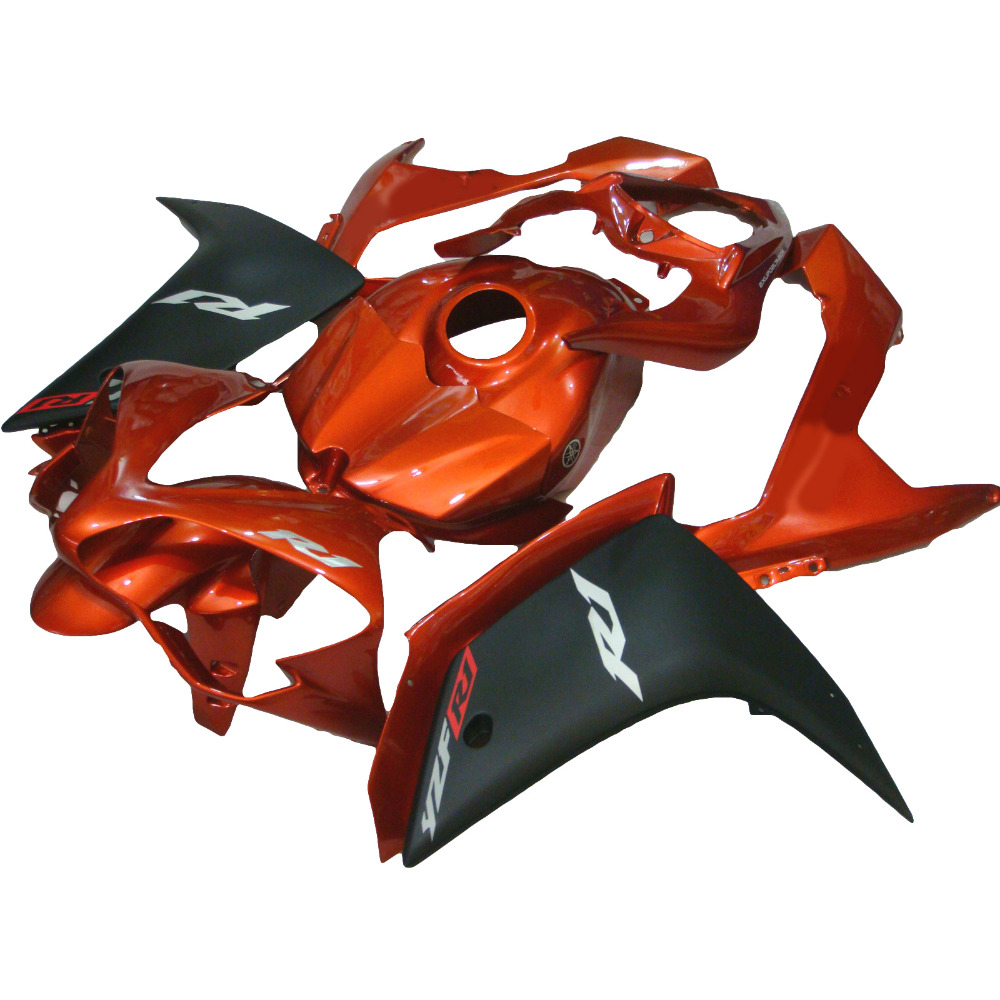 hot sales yzf r1 2007 2008 fairing for yamaha yzf r1 07 08 race bike yamalube bodyworks motorcycle fairings injection molding burnt orange injection molding body kit fairing kit for YAMAHA YZF R1  2007 2008 YZF R1 07 08 fairings xl17