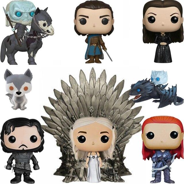 FUNKO POP Game of Thrones Daenerys SAMWELL TARLY A MONTANHA Vinyl Action Figure Coleção Modelo Brinquedos Presentes Caixa Original 2F11
